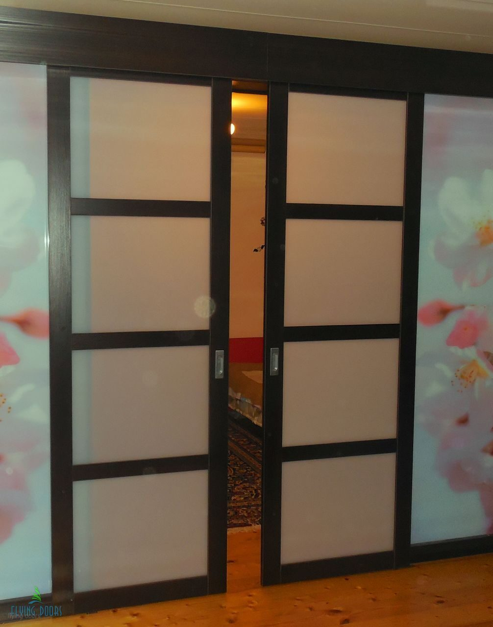 Раздвижная дверь из дсп 149